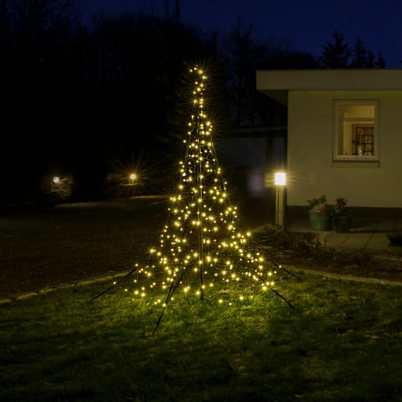 Fairybell julelys til flagstangen